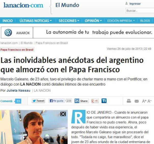 anecdotas papa fransisco