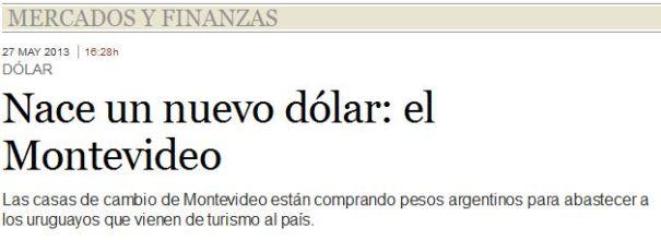 Dolar Montevideo